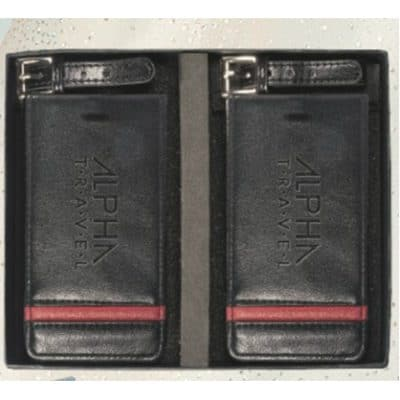 Alpha™ Two Luggage Tag Set