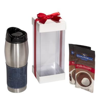 Casablanca™ Tumblers & Ghirardelli Hot Cocoa Gift Set