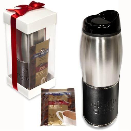 Empire™ Tumbler & Ghirardelli® Cocoa Gift Set