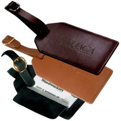 Grand Central Luggage Tag (Bonded Leather)