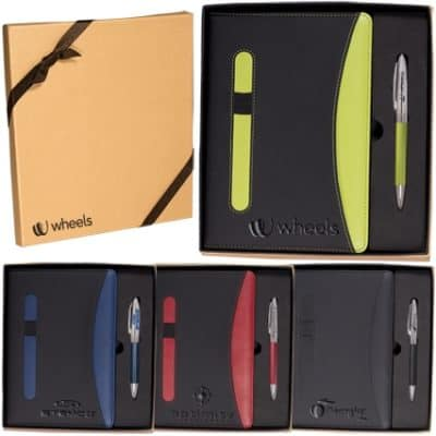 Naples™ Two-Tone Journal & Pen Gift Set