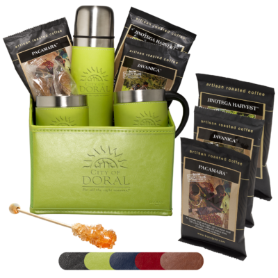 Tuscany™ Thermos & Cups Coffee Set