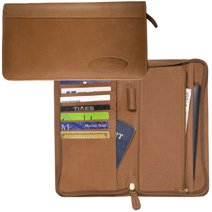 Hoboken Zip-Around Document Holder