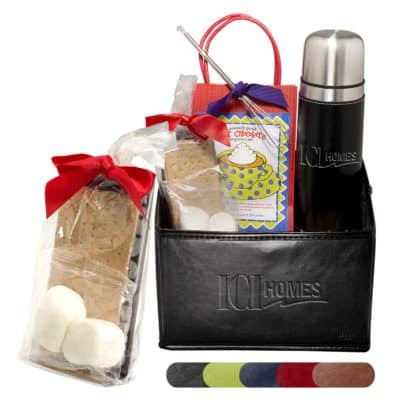 Tuscany™ Thermos w/ Hot Chocolate & S'mores Gift Set