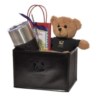 Tuscany™ Vacuum Tumbler w/Teddy Bear And Hot Cocoa Gift Set
