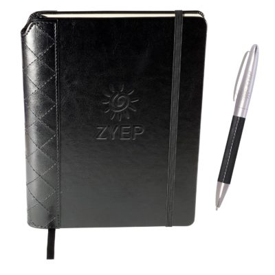 Venezia™ Quilted Edge Journal w/Pen