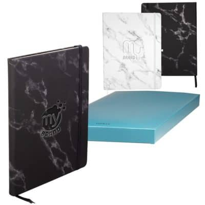 LEEMAN™ Large Bound Soft Cover Marble Journal