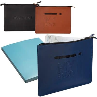 Tuscany™ Zip File Folder