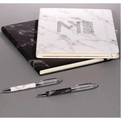 Leeman™ Marble Stationery Set