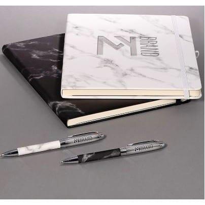 Leeman™ Marble Stationery Set