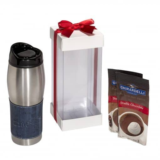 Casablanca™ Tumbler & Ghirardelli® Hot Cocoa Gift Set