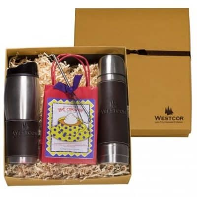 Empire™ Tumbler & Thermal Bottle Decadent Cocoa Gift Set