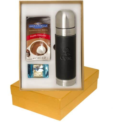 Tuscany™ Thermal Bottle & Ghirardelli® Deluxe Gift Set