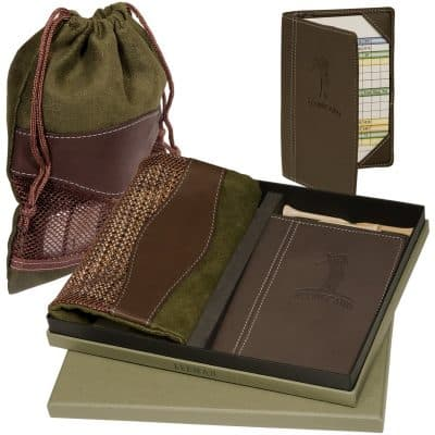 Woodbury™ Golf Pouch/Scorecard Set