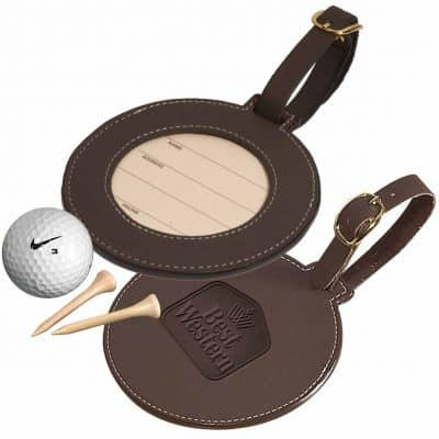 Woodbury™ Round Golf Tag