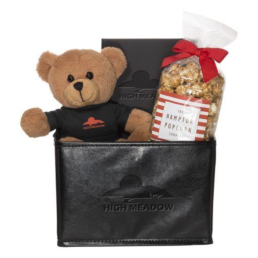 Teddy Bear & Popcorn Set