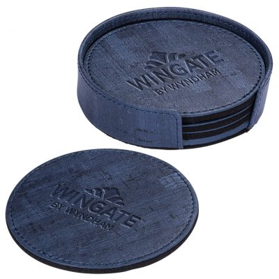 Casablanca™ Cork Round Coaster Set