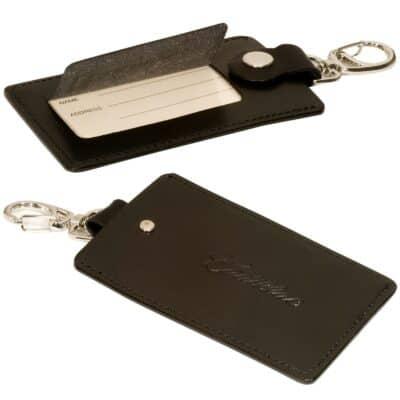Freedom Swivel Hook Luggage Tag w/Silver Clasp