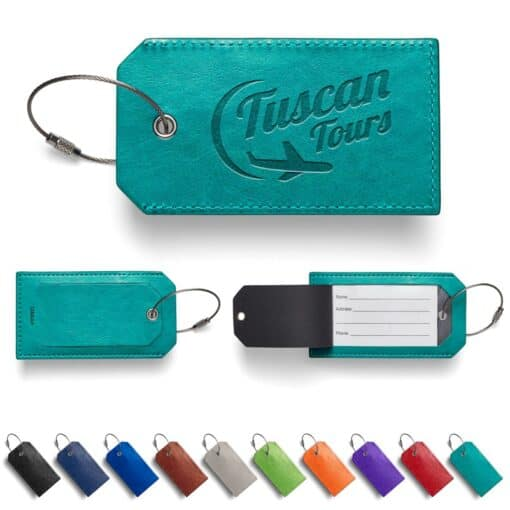 Leeman™ Venezia Sightseer Luggage Tag